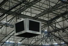 Video Screens Above The Pitch