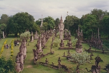 Vientiane Buddha Sculpture Park Overview