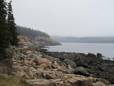 View Acadia National Park Landscape In Maine