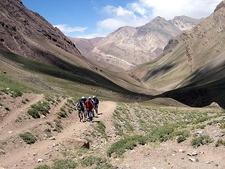 View Aconcagua Provincial Parque Landscape In Argentina