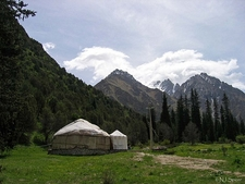 View Al-Archa Canyon In Kyrgyzstan