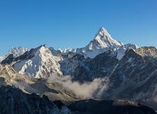 View Ama Dablam From Kaala Pathar - Nepal