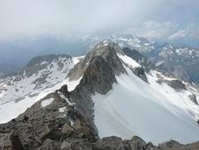 View Aneto Glacier - Posets-Maladeta NP