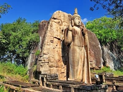 View Avukana Buddha Statue