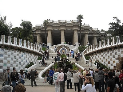View Barcelona Park Guell
