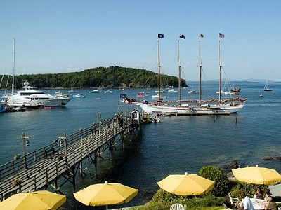 View Bar Harbor ME In Frenchman Bay Islands