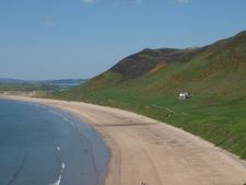 View Beach @ Rhossili - Wales UK
