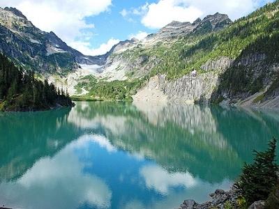 View Blanca Lake WA