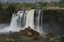 View Blue Nile Falls @ Bahir Dar ET