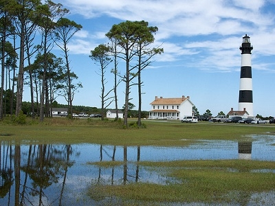View Bodie Island Lighthouse - Outer Banks NC