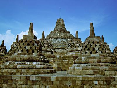 View Borobudur - Indonesia