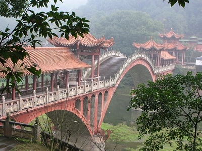 View Bridge At Leshan