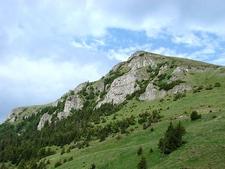 View Bucegi Mountains - Carpathians
