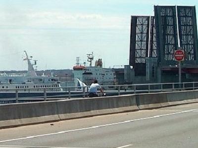 View Casco Bay Bridge - Portland ME