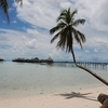 View Celebes Sea From Mabul Island