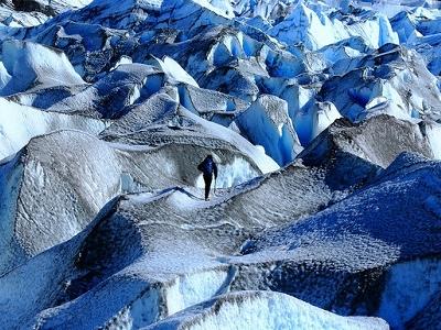 View Cerro Torre Glacier