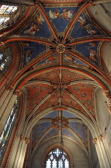 View Chapel Ceiling - Geneva Saint Pierre Cathedral
