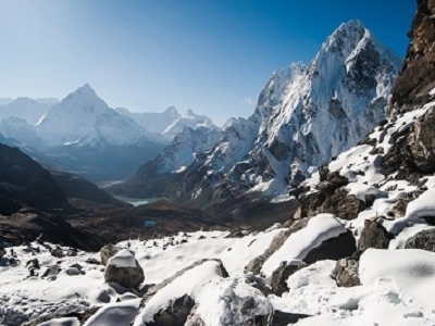 View Cho La Pass In Nepal