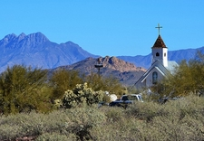 View Church In Superstition Wilderness AZ