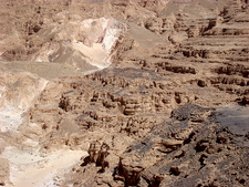 View Colored Canyon In South Sinai