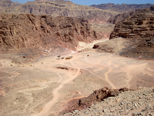 View Colored Canyon - Sinai Desert