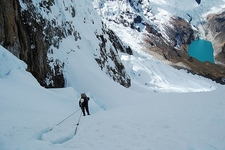 View Cordillera Blanca Snow Covered Landscape In Peru