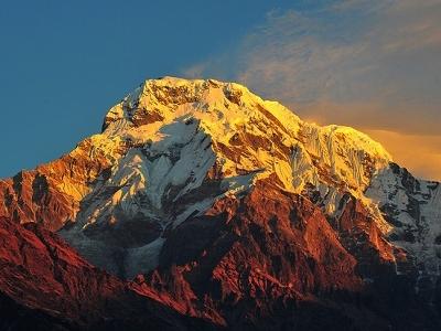 View Dhaulagiri - Annapurna - Nepal Himalayas