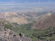 View Down Pine Creek