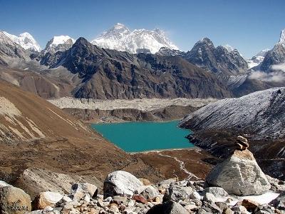 View Dudh Pokhari - Sagarmatha National Park - Gokyo Nepal