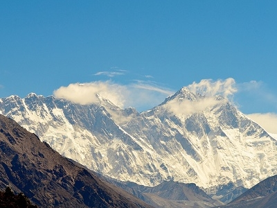 View Everest & Lhotse - Nepal Himalayas