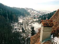 View From Bran Castle - Transylvania