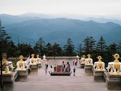 View From Golden Emeishan Summit