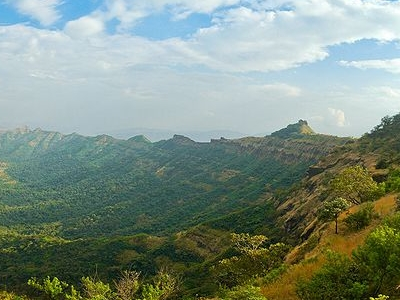 View From Rajgad