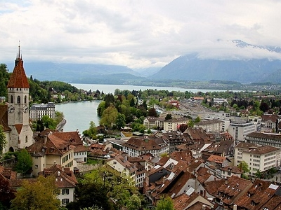 View From Schloss Thun