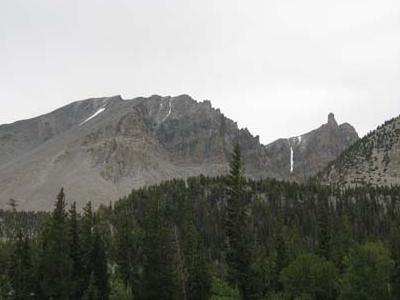View From Upper Lehman Creek