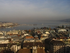 View Geneva From Saint Pierre Cathedral
