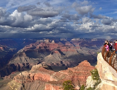 View Grand Canyon From Mather Point AZ
