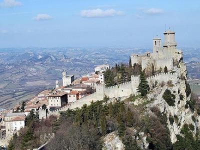 View Guaita Fortress - San Marino