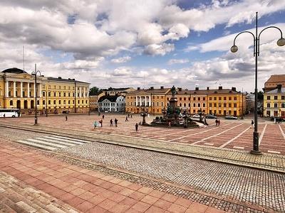 View Helsinki Cityscape