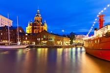 View Helsinki Old Town In Finland