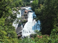 View High Falls In DuPont State Forest NC