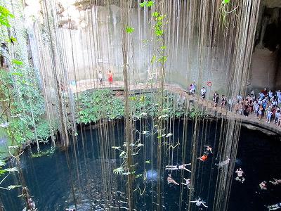 View Ik-Kil Cenote - Yucatan