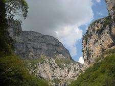 View Inside Vikos National Park