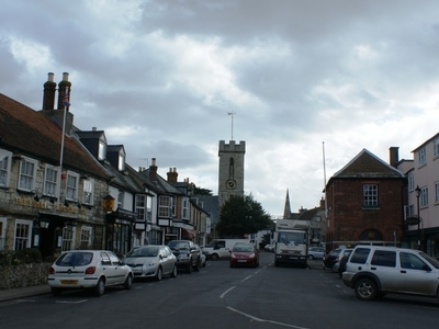 View Into  Yarmouth Town