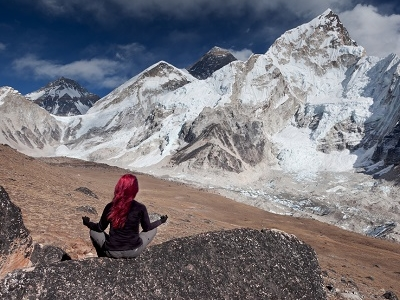View Khumbu Glacier - Nepal Himalayas