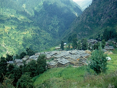 View Kullu In Himachal Pradesh