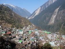 View Lachen Town In North Sikkim
