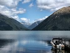 View Lake Rotoiti - Nelson Lakes NP - South Island NZ