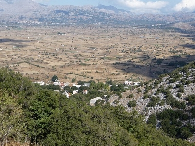 View Lassithi Plateau Near Dikteon Cave