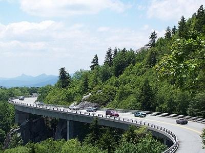 View Linn Cove Viaduct - Linville NC